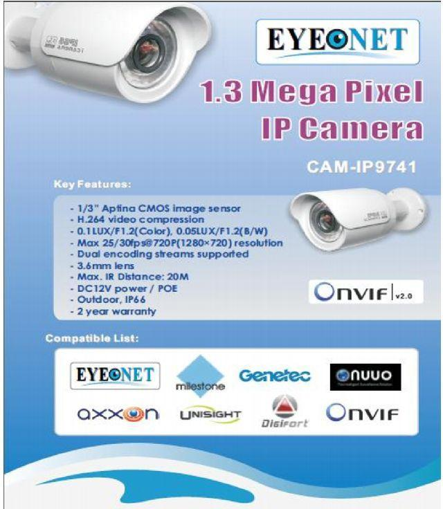 Security Surveilllance Camera | 1.3MP Camera System for Security