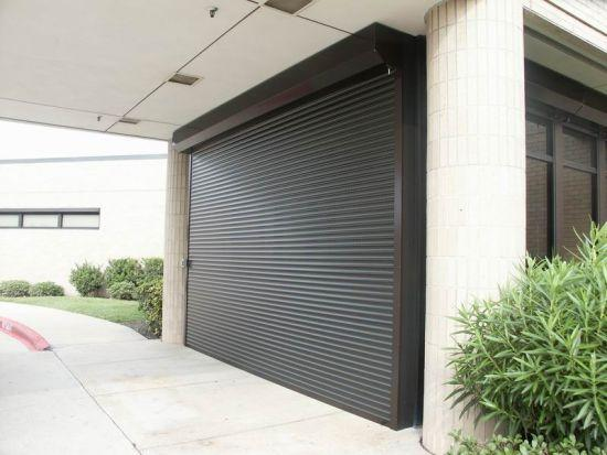 Insulated foam slat roll up door-8