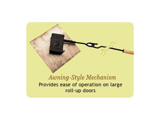 Rolling Shutter Operators Awnig Style Mechanism
