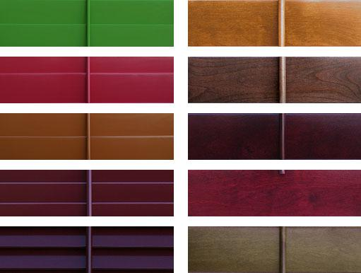 Stains Finishes Samples