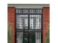 Decorative Ornate Storm Door