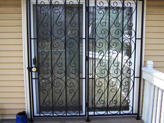 Patio Door Security Gate-5