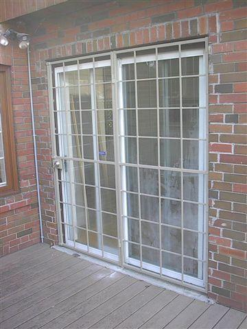 Patio Door Security Gate Colonial