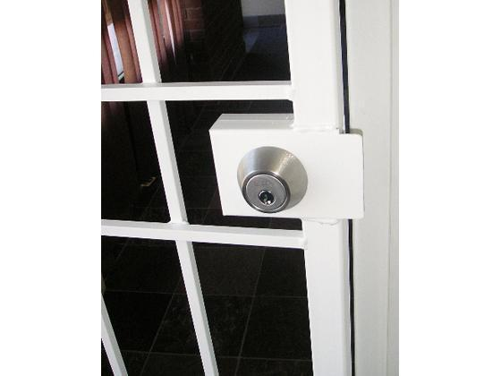 Security Door Gate Commercial Application-2