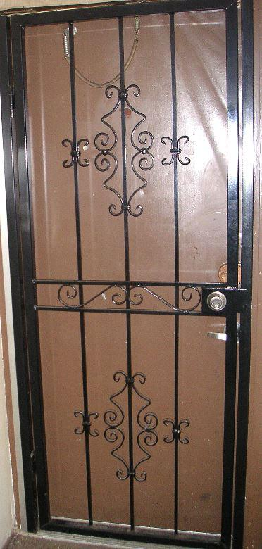 Security Gate for Residential Door