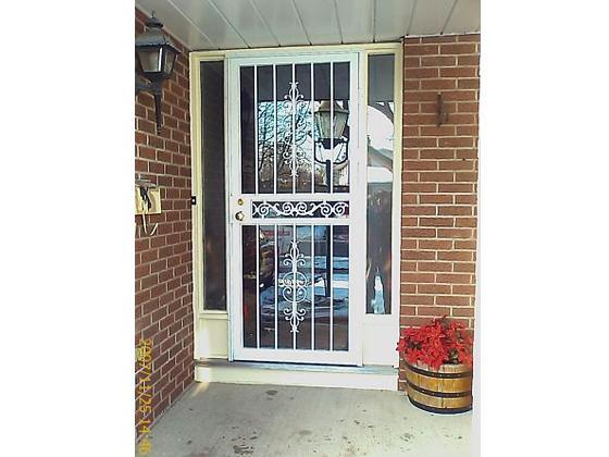 Security Screen Storm Door