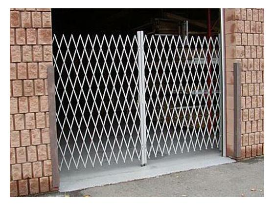 Folding Gate for Shipping Door Security-4