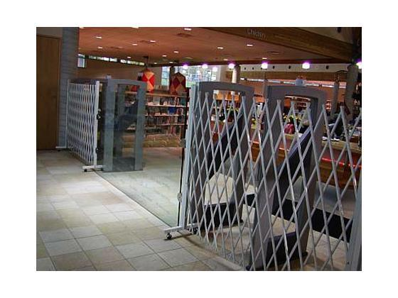 Folding Gate For Movable Access Control-6