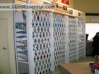 Folding gate for Security Enclosure-Cigarette Display Cage-3