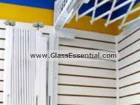 Folding gate for Security Enclosure-Cigarette Display Cage-5