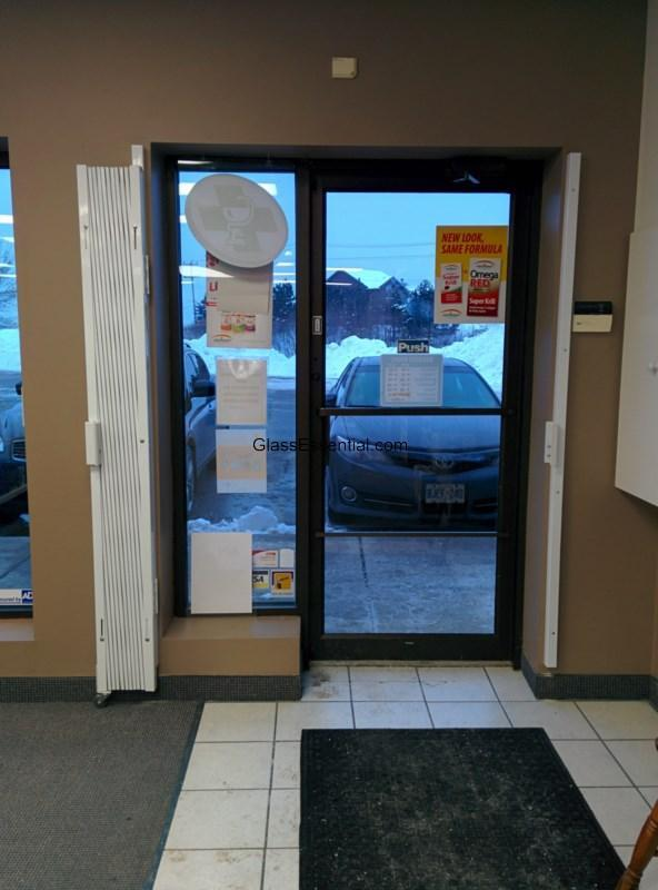 Folding Gate For Pharmacy Door Security