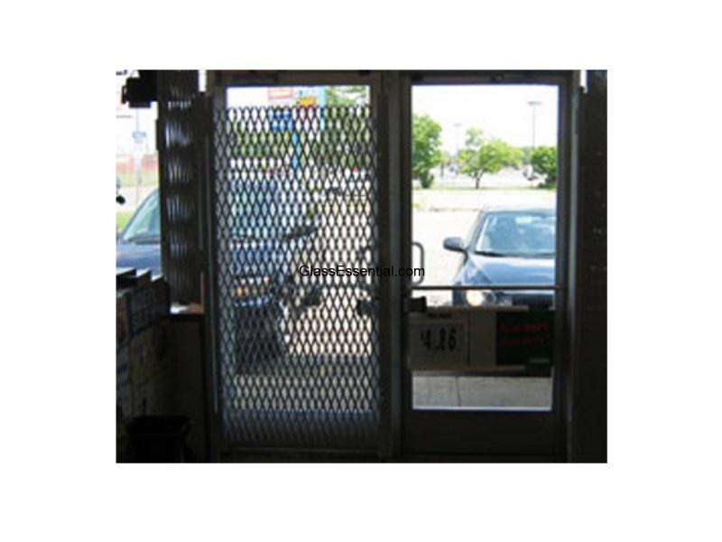 Folding Gate For Shop Window Door Security