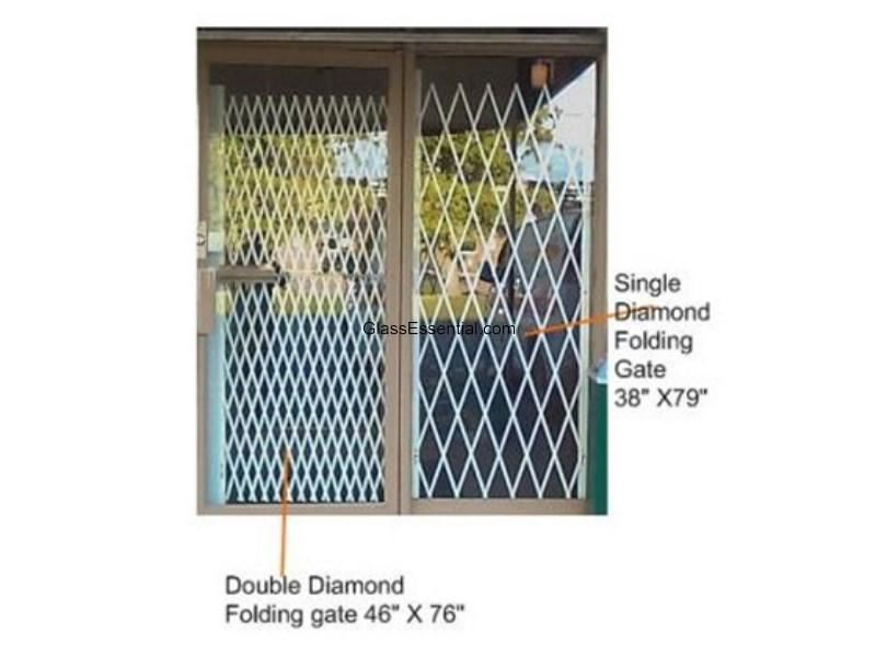 Retail Store Security Gate For Window Door