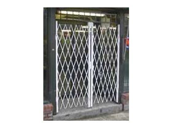 Folding Gate Accessories-Delivery Bay Door Security