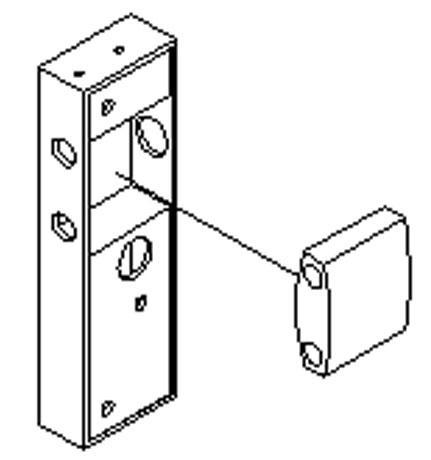 Folding Gate Accessories gate lock