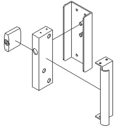 Folding Gate Accessories gate lock 3