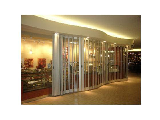 Royal folding security grille door-8