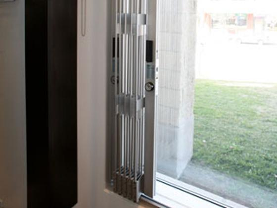 window security sliding grille