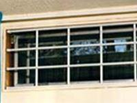 Alarmed Aluminum Window Bars