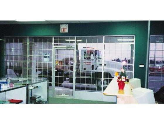 Aluminum Fixed and Removable Security Bars-2