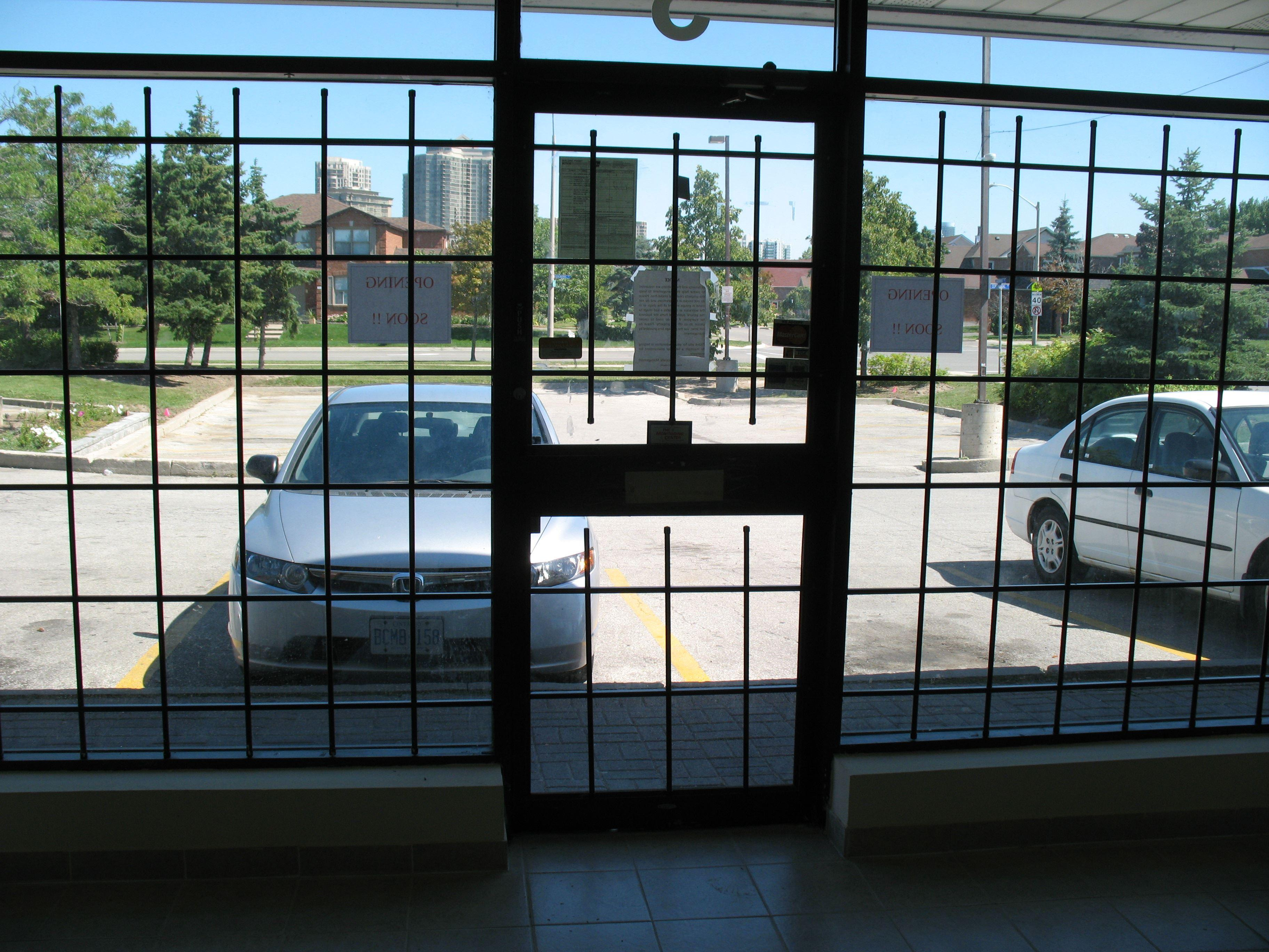 Aluminum Fixed and Removable Security Bars-14