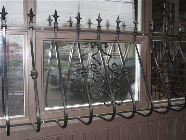 Decorative Window Security Bars Spanish-1