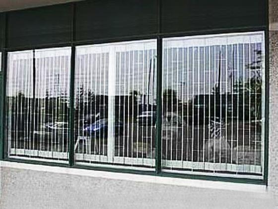 Folding Sliding Window Grille