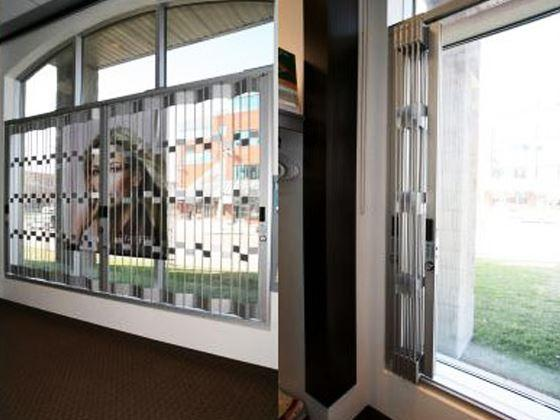 Folding Sliding Window Grille-2
