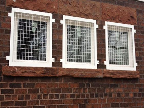 Wire Mesh Window Guard-5