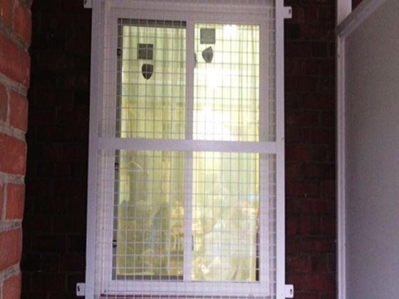 Wire Mesh Window Guard