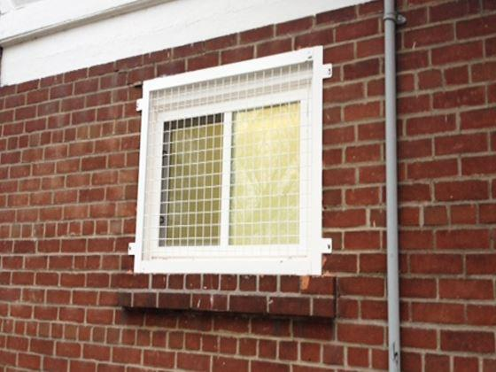 Wire Mesh Window Guard-7