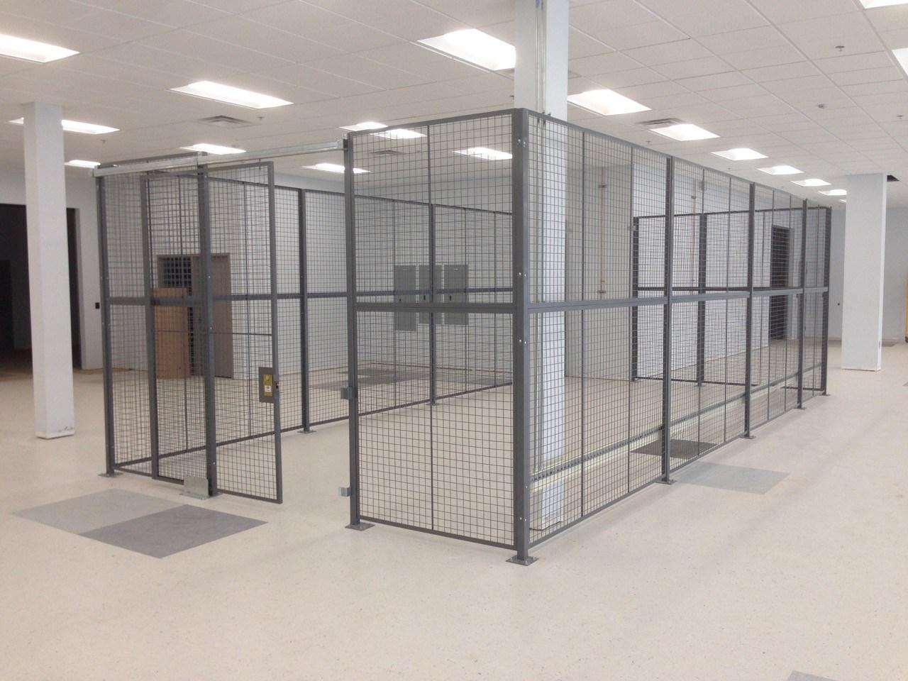 Wire Mesh Partitions,Locker & Cages