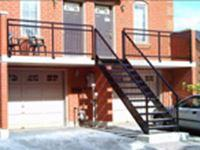 Powder Coated Stair for Outdoor Building Use