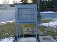 Mail Box Security Cage-2