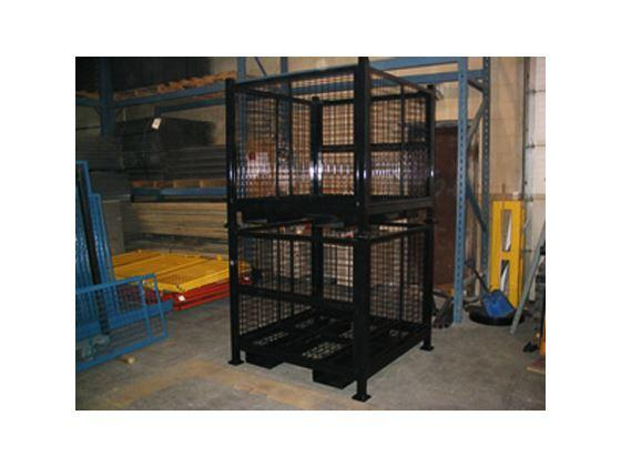 Wire Mesh Stack-able Container-1