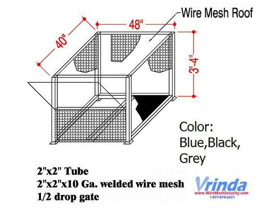 Wire Mesh Roof